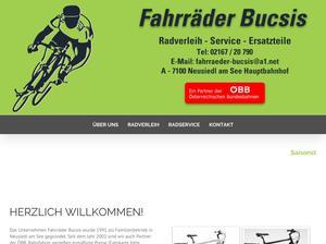 Fahrräder Bucsis Beata