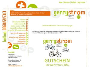 Gerrystrom -Mobilität ohne Emission