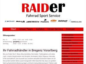 Raider Fahrrad-Sport-Service