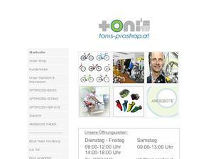 Toni's Pro Shop - Toni Oberacher