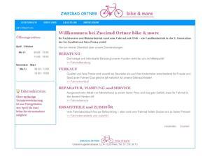 ZWEIRAD ORTNER bike & more